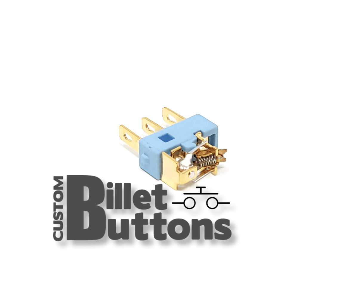 Replacement Micro Switch  U2022 Custom Billet Buttons