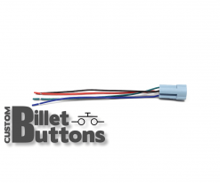 Pigtails Connector for 25mm Billet Buttons with LED