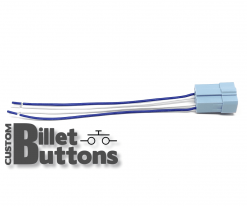 Pigtails Connector for 30mm Billet Buttons without LED