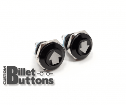ARROW UP/DOWN 16mm Custom Billet Buttons