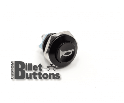 HORN Symbol 16mm Custom Billet Buttons