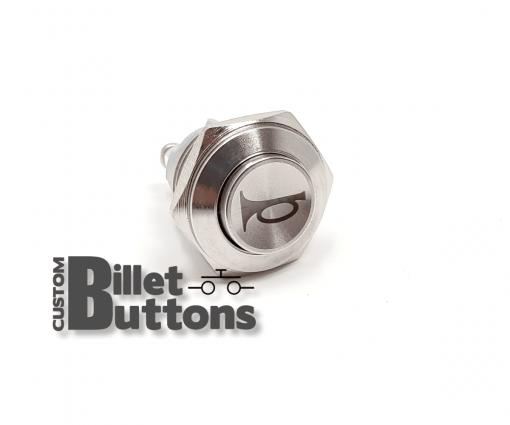 HORN Symbol 16mm Custom Billet Buttons