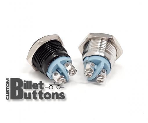 16mm Custom Billet Buttons