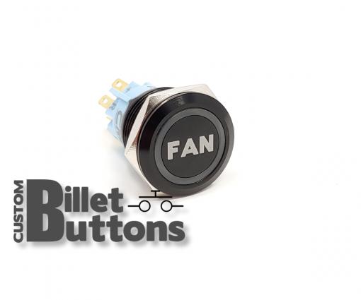 FAN 19mm Custom Billet Buttons