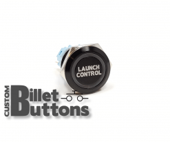 LAUNCH CONTROL 19mm Custom Billet Buttons
