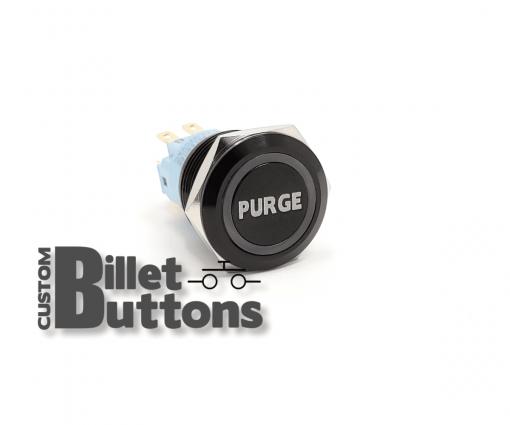 PURGE 19mm Custom Billet Buttons