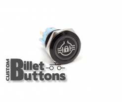 REAR DIFF LOCK 19mm Custom Billet Buttons