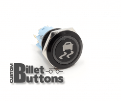 TRAC CONTROL 19mm Custom Billet Buttons