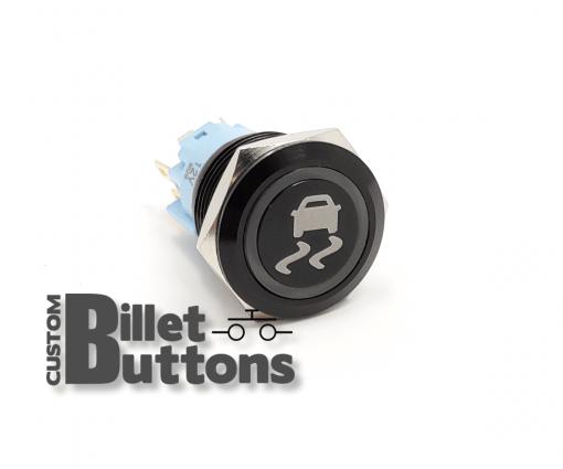 TRAC CONTROL 19mm Custom Billet Buttons