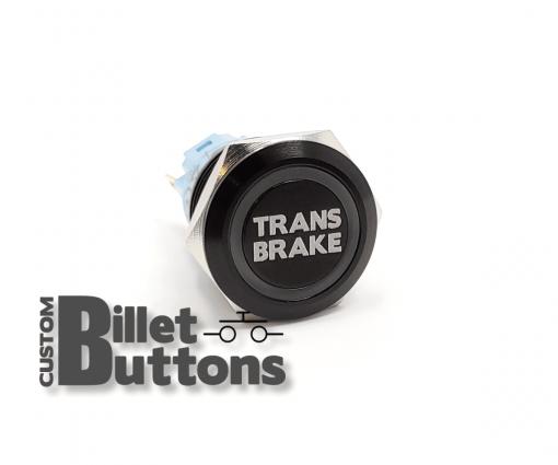 TRANS BRAKE 19mm Custom Billet Buttons