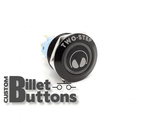 TWO STEP EARMUFF 22mm Custom Billet Buttons