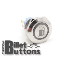 FUEL SYMBOL 22mm Custom Billet Buttons