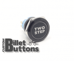 TWO STEP 25mm Custom Billet Buttons