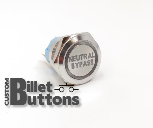 NEUTRAL BYPASS 25mm Custom Billet Buttons