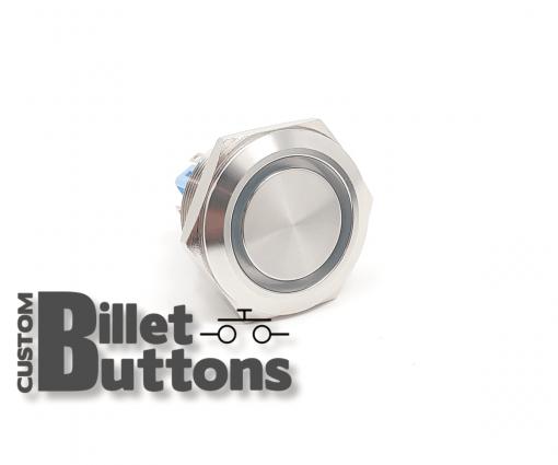 30mm Custom Billet Buttons