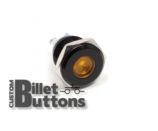 Blank Laser Etched 16mm LED Pilot Light 12V