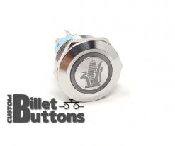 E85 CORN FUEL 22mm Laser Etched Custom Billet Buttons