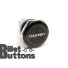 COURTESY 25mm Laser Etched Billet Buttons