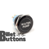 WATER PUMP 25mm Laser Etched Billet Buttons