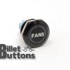 FANS 22mm Laser Etched Billet Buttons
