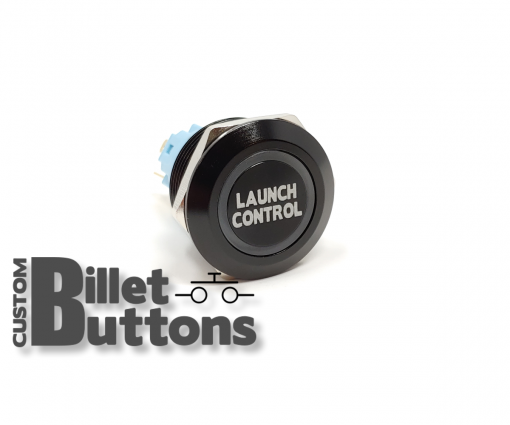LAUNCH CONTROL 22mm Laser Etched Billet Buttons