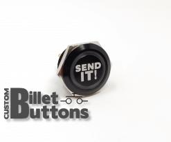 SEND IT 30mm Laser Etched Billet Buttons