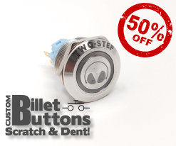 Scratch & Dent Two Step Billet Buttons