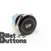 UP 19mm Laser Etched Billet Buttons
