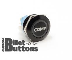 COMP 22mm Laser Etched Billet Buttons