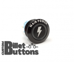 MAIN POWER 22mm Laser Etched Billet Buttons