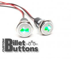 12V LED Turn Signal Indicator 16mm