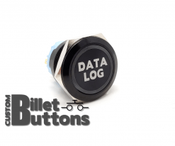 DATALOG 25mm Custom Billet Buttons
