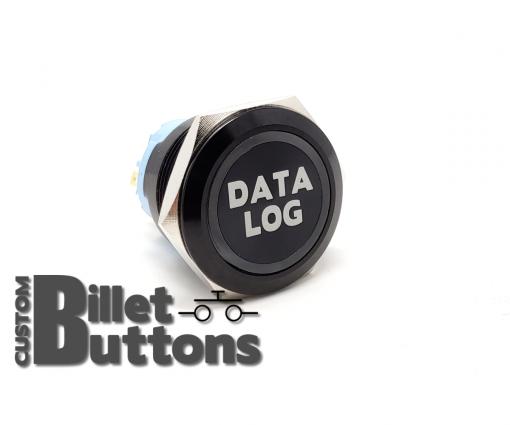 DATALOG 25mm Custom Billet Buttons